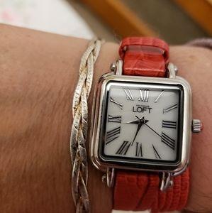 LOFT wrap around woman's watch